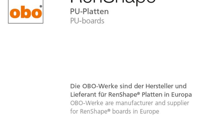 RenShape PU-boards
