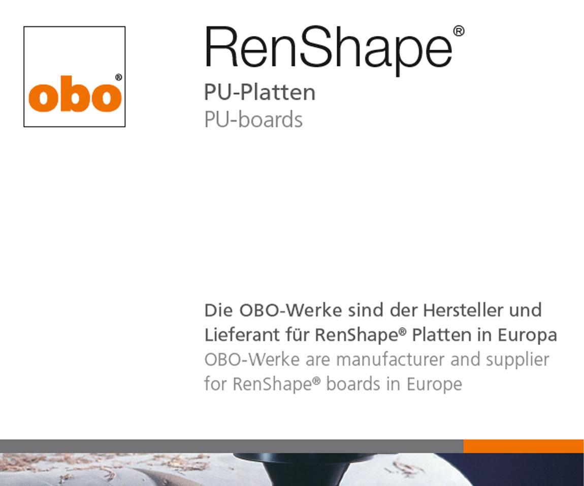 OBO – RenShape PU boards