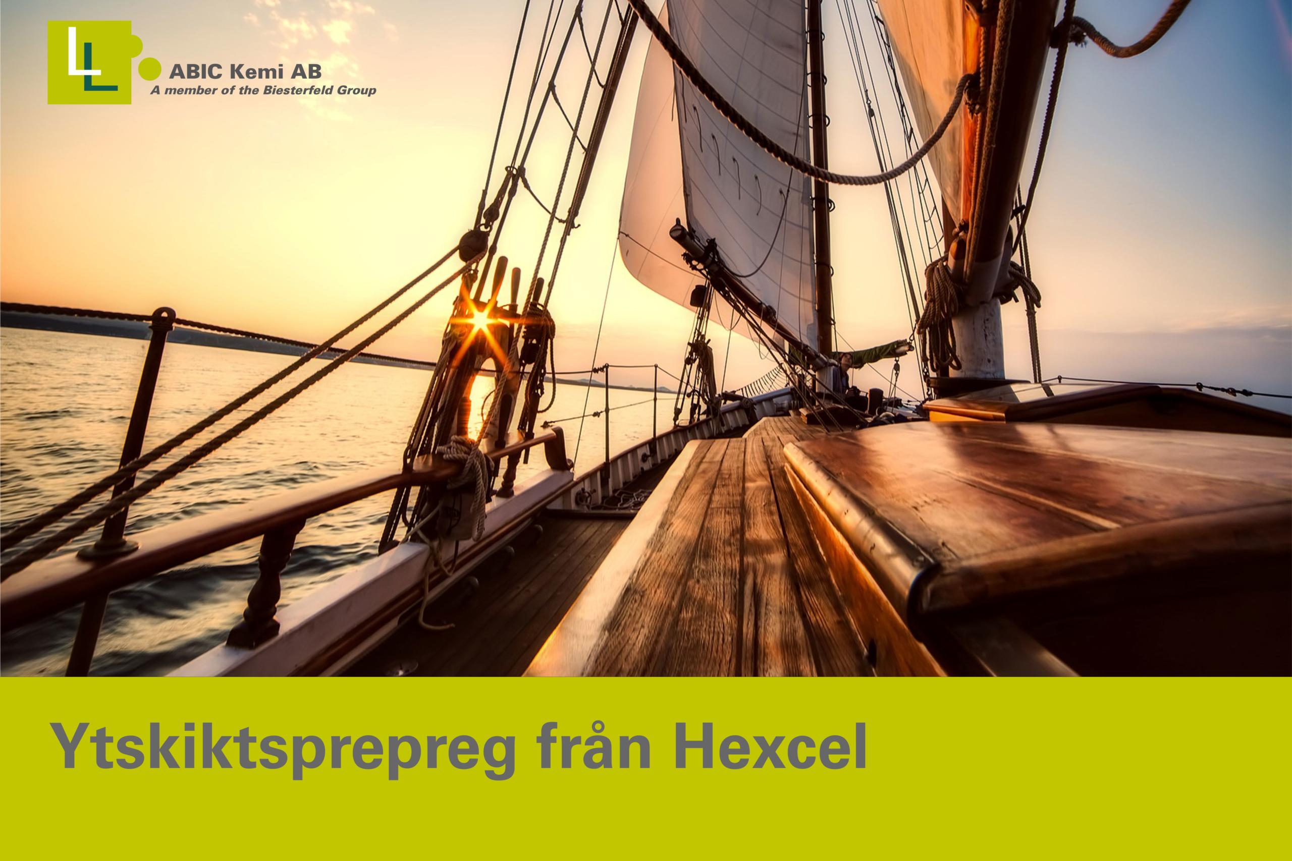 HexPly® XF2 Ytskiktsprepreg från Hexcel